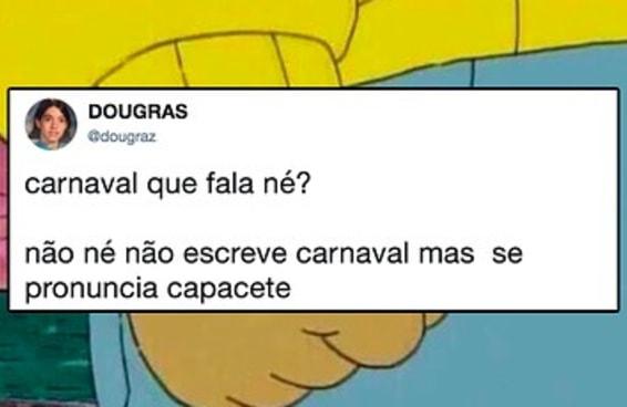 SIM, É CARNAVAL QUE CHAMA MESMO