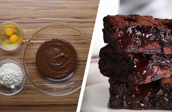 Aprenda dois jeitos incríveis de fazer brownie em casa