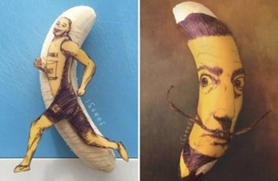 16 obras de arte que vão fazer você ver bananas com outros olhos