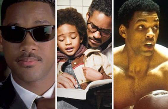 Quantos filmes do Will Smith você já viu?