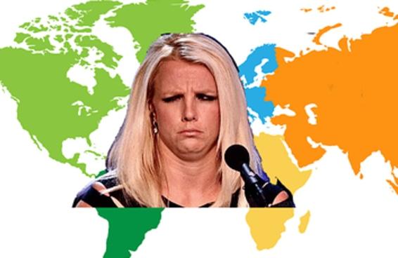 Desculpe, mas você só vai conseguir passar neste teste de geografia se conhecer bem o mapa-múndi