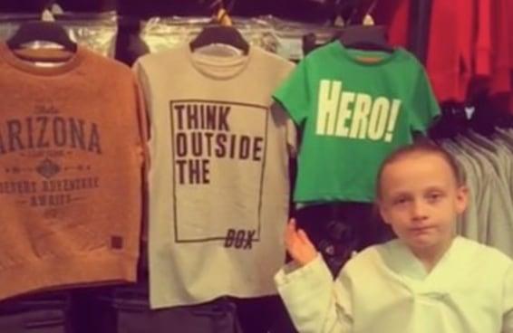 Esta menininha explicou perfeitamente qual é o problema das roupas infantis