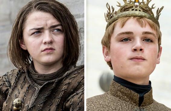 """Você sabe qual ator de """"Game Of Thrones"""" é o mais jovem?"""