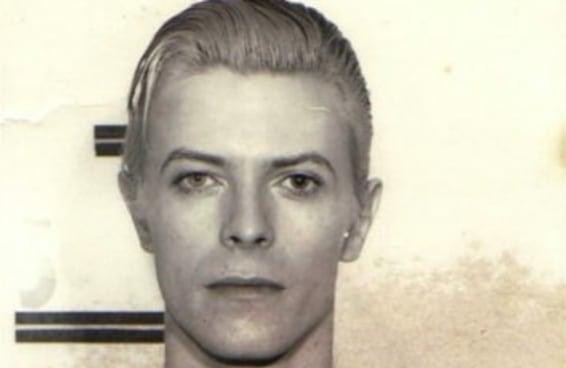 Como David Bowie apareceu na foto policial mais legal de todos os tempos