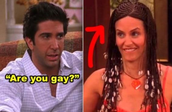 """26 momentos de """"Friends"""" super inapropriados que não cabem em 2019"""