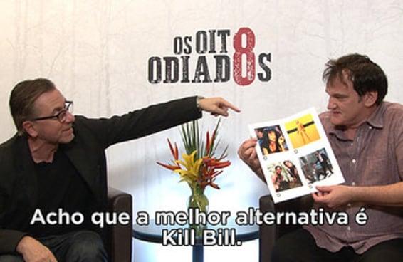 Como seria um filme do Tarantino no Brasil?
