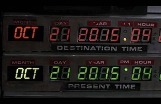 """A verdadeira data da viagem no tempo do """"De Volta para o Futuro"""" finalmente chegou"""