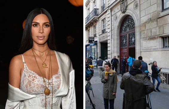 Kim Kardashian West é assaltada à mão armada em seu quarto de hotel em Paris