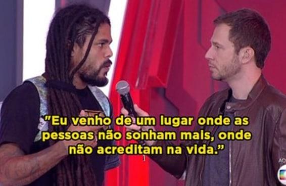 """Viegas fez valer a participação no """"BBB18"""" com este discurso de um minuto"""