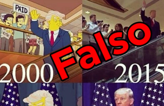 """Não, """"Os Simpsons"""" não previram cenas da vitória de Trump"""