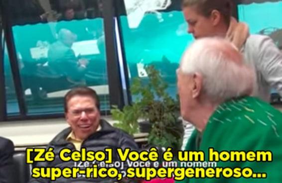 Explicamos a bagunça que foi a reunião entre o Silvio Santos e o Zé Celso