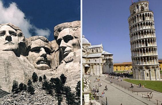 As pessoas estão compartilhando pontos turísticos superestimados e estou meio chocado e meio fascinado