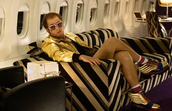 """A vida real de Elton John é ainda mais interessante do que """"Rocketman"""""""