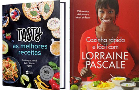 10 livros de receitas para quem acha que cozinhar é uma arte
