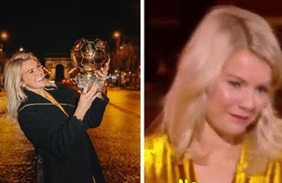 A Ada ganhou um dos maiores prêmios do futebol e pediram para ela rebolar no palco