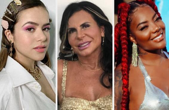 Você diria que essas celebridades colocam o arroz por cima ou por baixo do feijão?