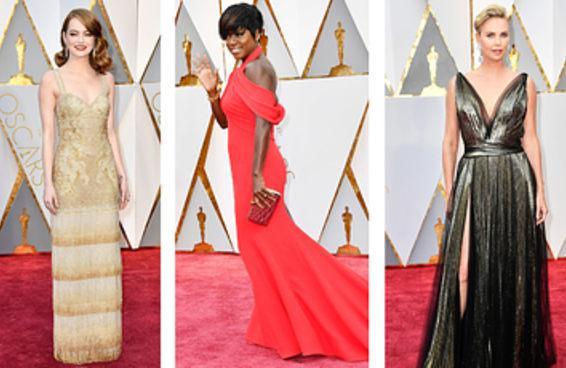 Os looks do tapete vermelho no Oscar 2017