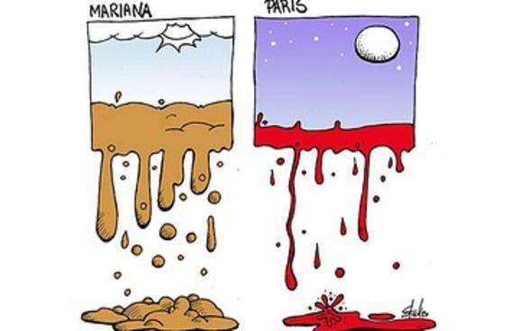 Um cartunista resumiu perfeitamente a dor dos brasileiros nesta semana