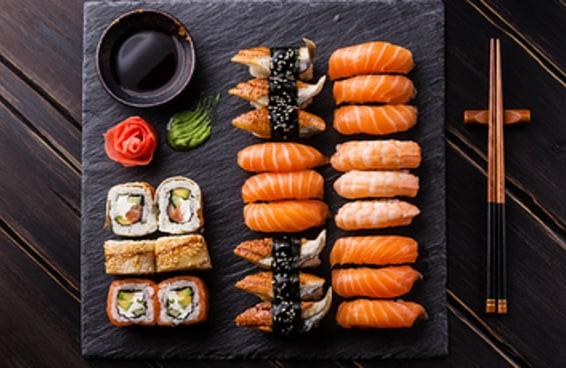 Monte o rolinho de sushi perfeito e revelaremos a idade da sua alma
