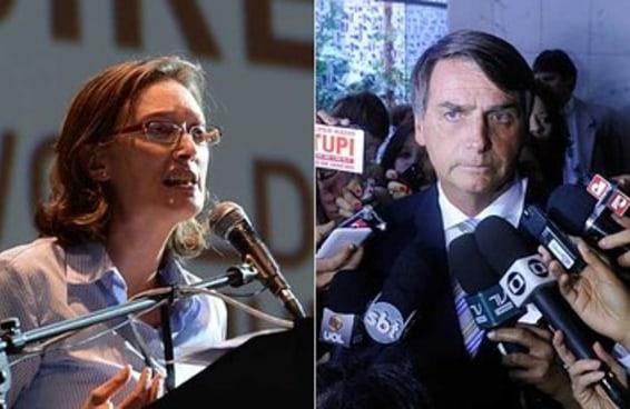 """Ação contra Bolsonaro """"é avanço contra cultura do estupro"""", diz Maria do Rosário"""