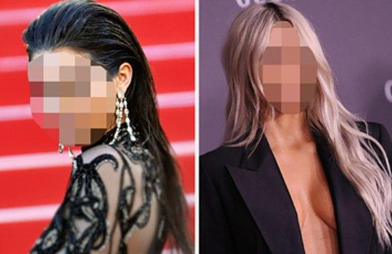 A maioria das pessoas não conseguem distinguir as Kardashians quando seus rostos estão borrados — você consegue?
