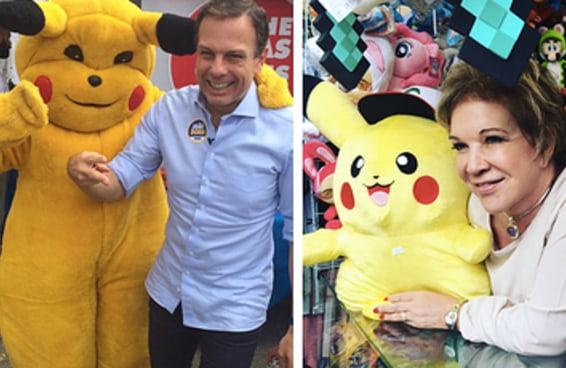"""Fotos de políticos com Pokémon são o novo """"políticos comendo pastel na feira"""""""