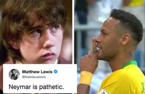 Matthew Lewis viu que irritar brasileiros é pior que mexer com Voldemort
