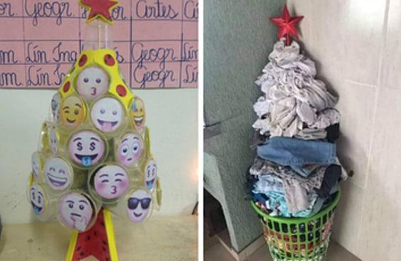 O brasileiro não perdoa nem árvore de Natal e É POR ISSO QUE NINGUÉM VAI GANHAR PRESENTE DO PAPAI NOEL NESSE PAÍS!!!