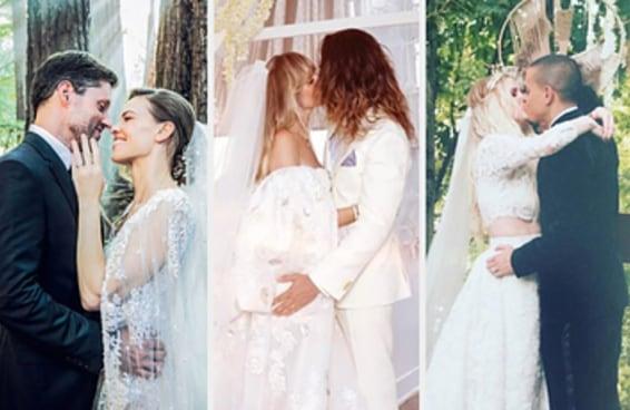 Os 62 casamentos de celebridades mais bonitos da década