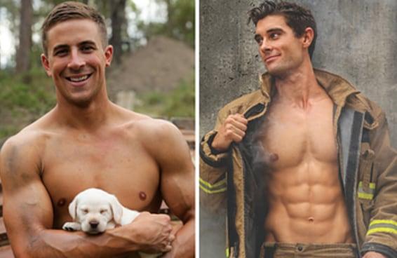 Agora ninguém mais precisa escolher entre um bichinho bonitinho e um bombeiro bonitão