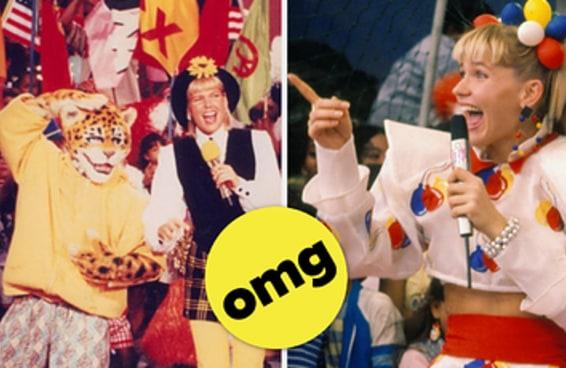 Eu aposto que você não sabia que a Xuxa teve um programa na TV dos EUA!