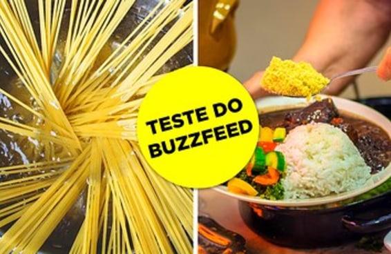 Gabaritar este teste EXTREMAMENTE BÁSICO sobre cozinha não é mais que a sua obrigação