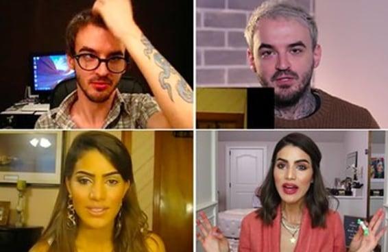 32 youtubers em seus vídeos mais antigos e agora