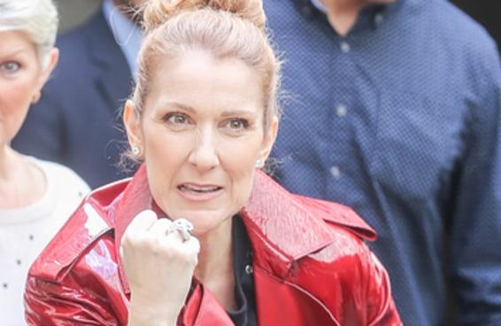 A Céline Dion saindo de prédios é uma inspiração para todos nós