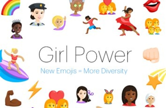 O Facebook transformou cinco emojis masculinos em personagens femininos
