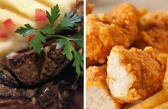 Escolha um almoço para cada dia da semana e diremos quantos % de você vai chegar ao final dela