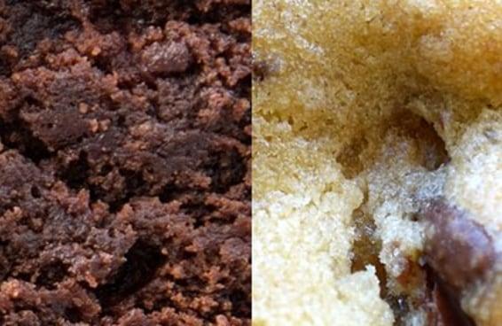 Você consegue identificar esses doces fotografados bem de pertinho?