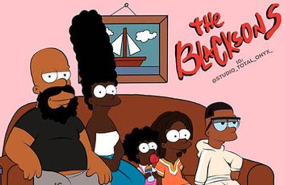 Este artista recriou desenhos clássicos com personagens negros e ficou demais