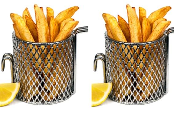 Você consegue perceber quando alguém rouba sua batata frita?