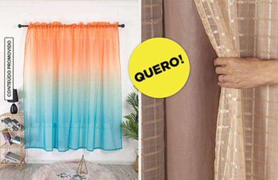 14 cortinas diferentes para poder andar sem roupa em casa