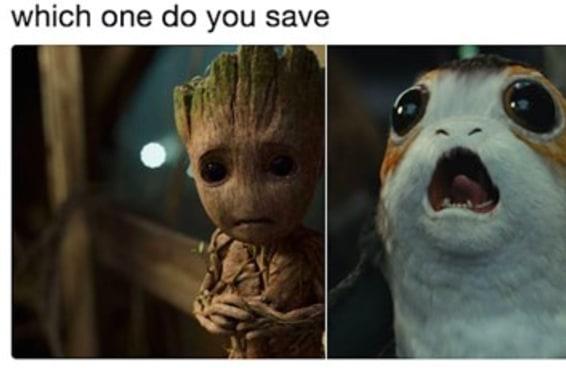 Meu Deus, o Groot na verdade está morto, e o bebê Groot é filho dele