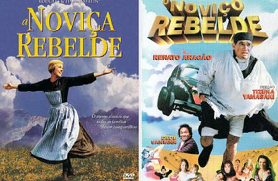Você é mais A Noviça Rebelde ou O Noviço Rebelde?