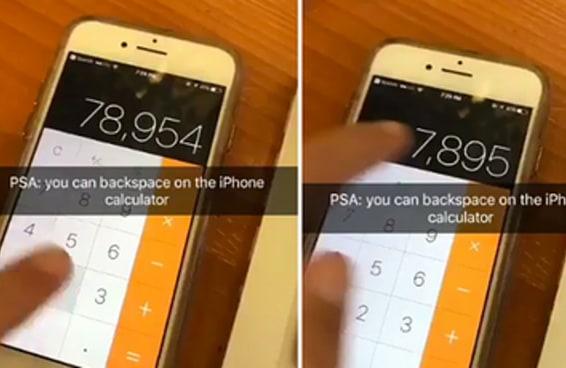 O pessoal ficou doido quando descobriu essa função na calculadora do iPhone