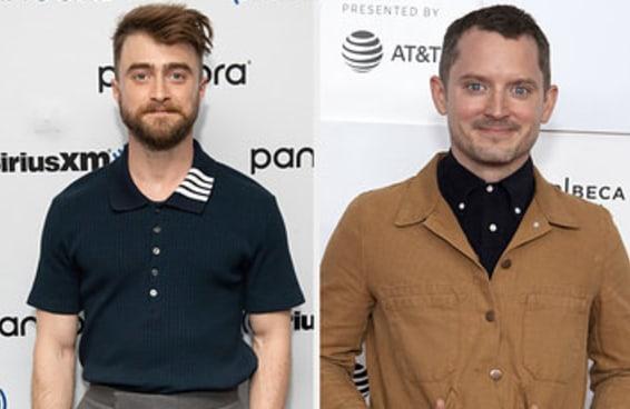 Sim, Daniel Radcliffe sabe que acham ele parecido com Elijah Wood, mas discorda