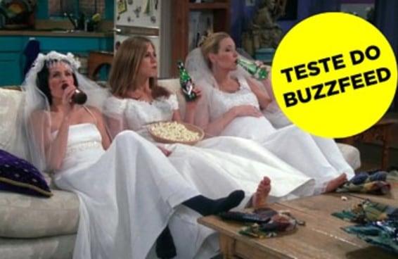 """Qual casamento de """"Friends"""" você seria?"""