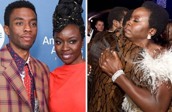 """Danai Gurira, que interpretou Okoye em """"Pantera Negra"""", acabou de fazer uma declaração sobre Chadwick Boseman"""