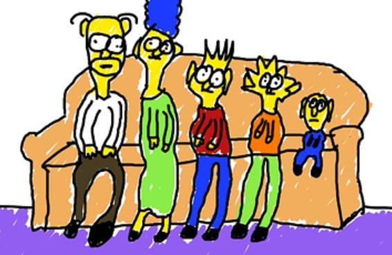 Você consegue adivinhar o nome da série de TV a partir destes desenhos toscos?