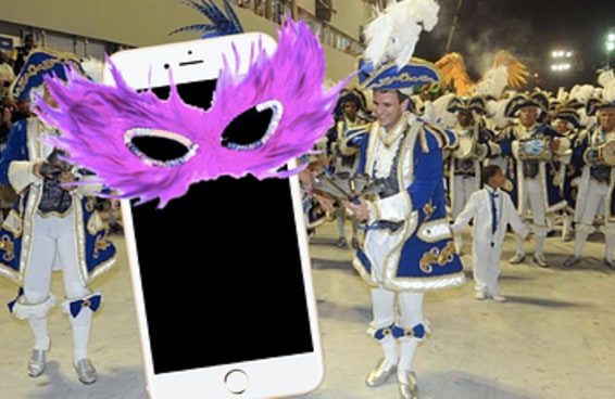 Parece que a Siri está treinando para desfilar no carnaval este ano