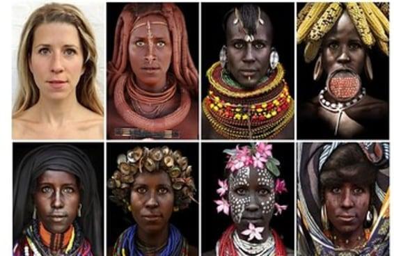 Uma mulher fez blackface para dar visibilidade às mulheres africanas e está surpresa que as pessoas estão ofendidas