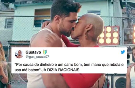 Não adianta criticar o Nego do Borel com uma frase LGBTfóbica do Racionais MC's